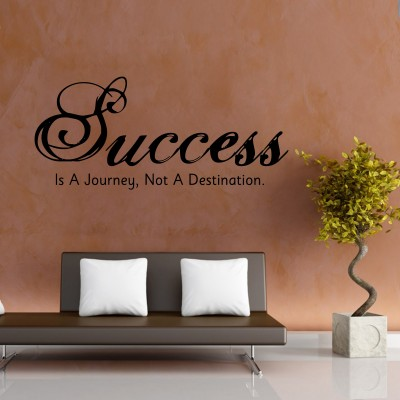 Success A Destination Wall Sticker Decal