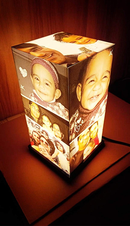Personalized Anniversary/Birthday Acrylic Tower Lamp