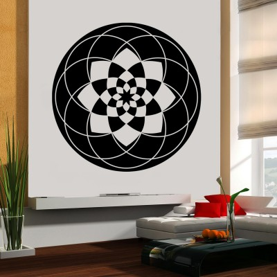 Halo Wall Sticker Decal-Small-Black