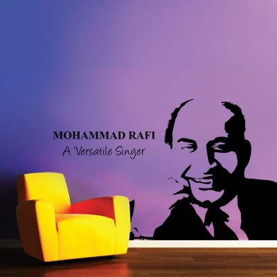 Rafi Saab Wall Sticker Decal-Small-Black
