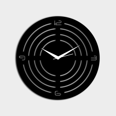 Concircle Style 1 Black Wall Clock