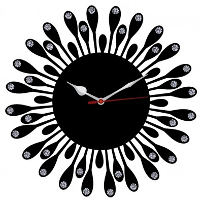 Trendy Ethnic Wall Clock Style 3