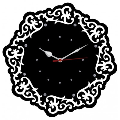 Trendy Ethnic Wall Clock Style 4