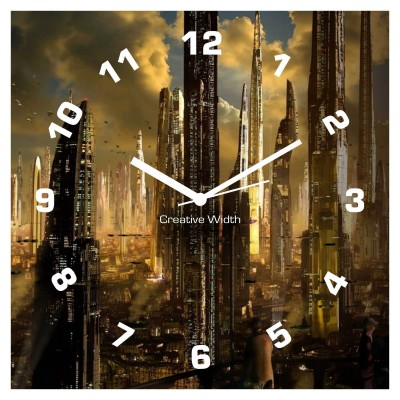 City of Skyline Wall Clock