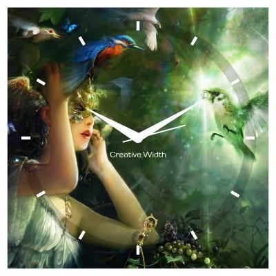 Mystry Bird Wall Clock