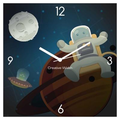 Space Jump Wall Clock