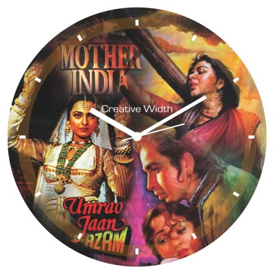 Bollywood Style 1 Wall Clock