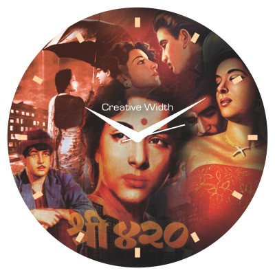 Bollywood Style 2 Wall Clock