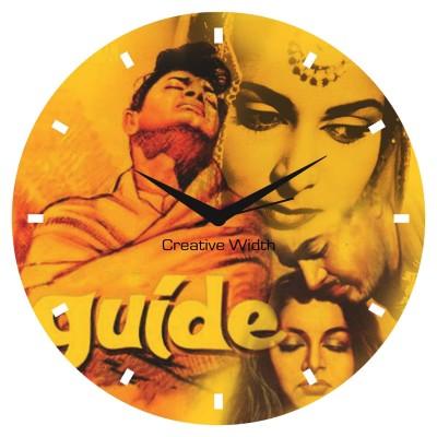 Bollywood Style 3 Wall Clock
