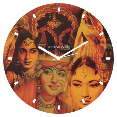 Bollywood Style 4 Wall Clock