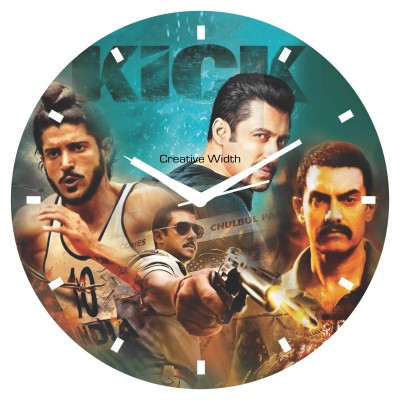 Bollywood Style 5 Wall Clock