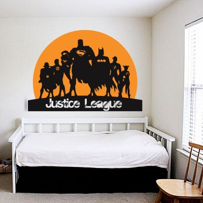 Justice League Wall Sticker Decal-Small