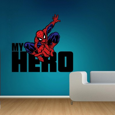 Spiderman My Hero Wall Sticker Decal-Small