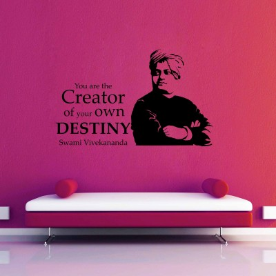 Create Your Destiny Wall Sticker Decal-Small-Black
