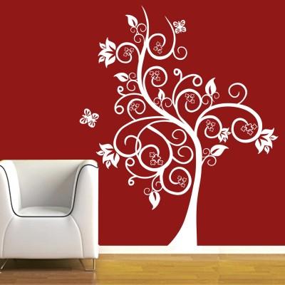 Magic Tree Wall Sticker Decal-Small-White