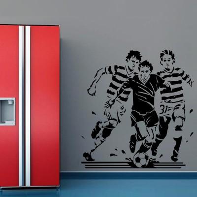 My Life Football Wall Sticker Decal-Small-Black